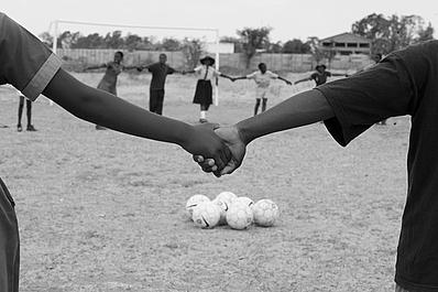 Sport 4 Development Holding Hands