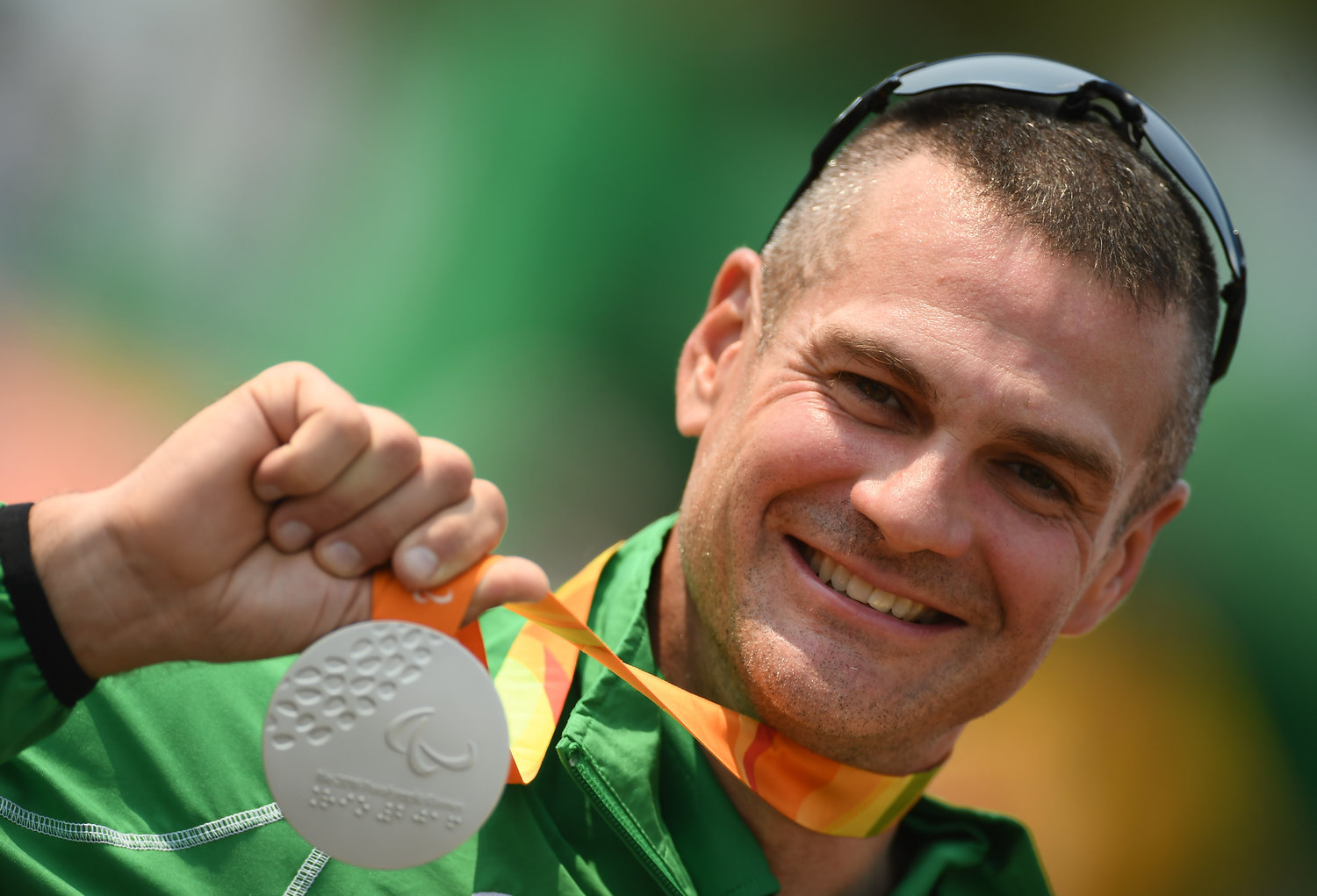 Colin Lynch takes Silver in Rio