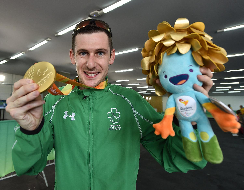 Michael McKillop takes Gold in Rio