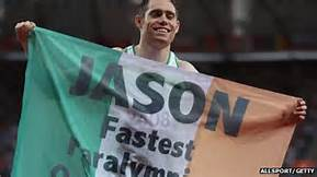 world's fastest Paralympian Jason Smyth