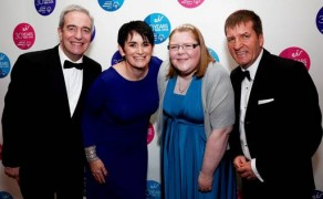 Irish Sports stars shine at charity ball