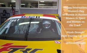 Irish Touring Car Driver Nicole Drought's International Women's Day Message