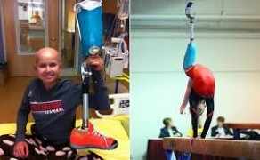 """Young Gymnast Overcomes all the Odds"""