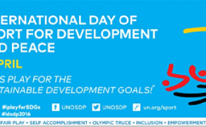 International Day of Sport For Development and Peace 2016‬ Poster Contest