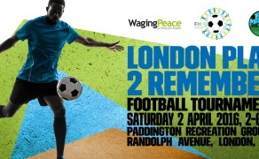 London Play 2 Remember football tournament for genocide survivors