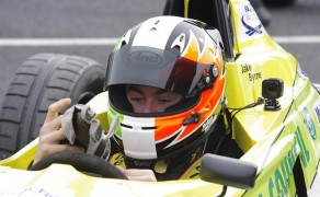 Motorsport Ireland Young Driver of The Year Jake Byrne wins at Kirkistown