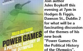 Join Author Jules Boykoff this Evening For a Discussion on Politics and the Olympics