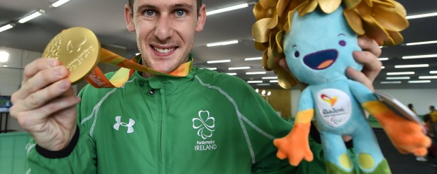 McKillop Takes Home The Gold For Team Ireland