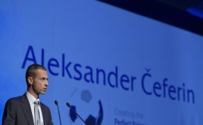 Alexander Ceferin is the new president of the UEFA!!