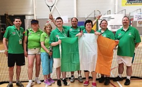 The Irish Blind Tennis Team Celebrate International Success
